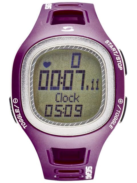 SIGMA PC 10.11 - Cardiofréquencemètre - violet